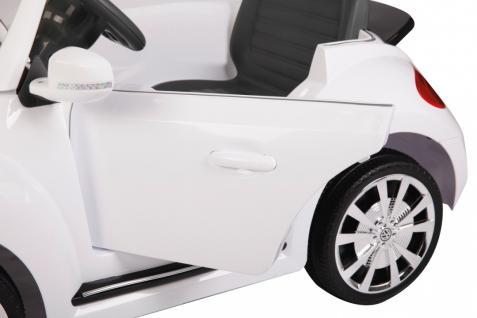 Jamara Ride On VW Beetle Kinderauto Elektroauto weiß 2, 4G 6V - Vorschau 4