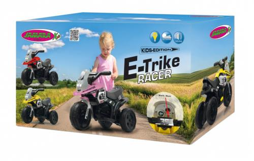 Jamara Kinderauto Elektro-Trike Elektroauto Ride-on E-Trike Racer pink - Vorschau 3