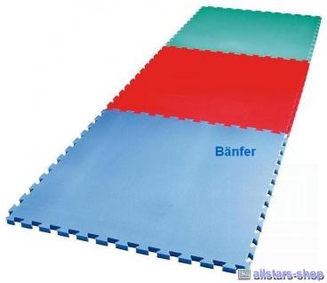 Bänfer Fallschutzmatte Schutzmatte Turnmatte Bodenturnmatte 1 m² Vario-Top rot - Vorschau 4