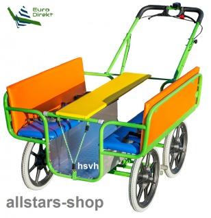 Allstars Krippenwagen Mehrkindwagen Fortuna 2019 Ausflugswagen für 6 Kinder für Kindertagesstätte