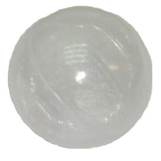 Bänfer Bällebad Therapiebälle Bälle 500 Stück 60 mm Therapie-Bälle transparent