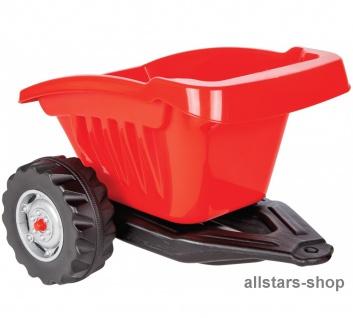 Jamara Trailer Anhänger Hänger für Traktor Ride On Trecker Tractor rot