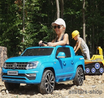 Actionbikes Kinderauto Kinder-Auto 2-Sitzer VW-Amarok E-Auto Miweba