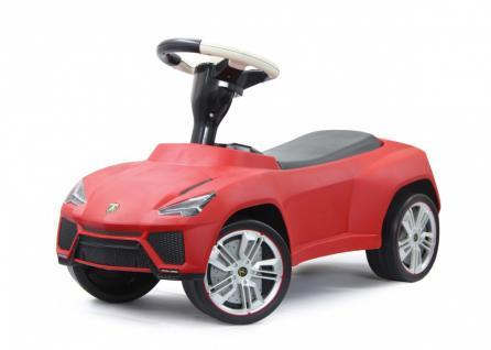 Jamara Rutscher Lamborghini Urus rot Rutschauto Lederreifen