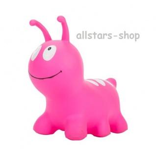 """Allstars Hüpftier """"Wurm"""" Hüpfball Hüpfeball Hüpfetier Hopser pink"""