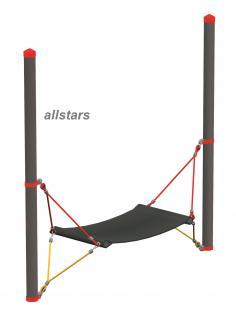 Huck Vario-Systen Element 4 Hängematte Parcours f. Stahlpfosten Spielplatzanlage