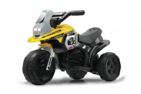 Jamara Kinderauto Elektro-Trike Elektroauto Ride-on E-Trike Racer gelb