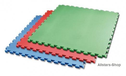 Bänfer-Kids Spielmatte Matte Vario Step Set 4 Stück rot Steckmatte Fallschutzmatte