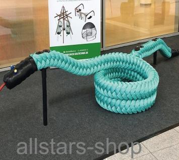 Balancier-Seil Anaconda Maxi L = ca. bis 9, 20 m biegsame Seilschlange auf Stützen Huck