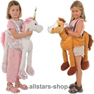 Allstars Kinder-Kostüm Tierkostüme Pferd + Einhorn Faschingskostüme Schlupfkostüme Karneval