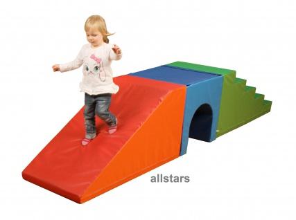 Bänfer Kids Softbausteine 3 tlg. Maxi Schaumstoffbausteine Bausteine Baumodul