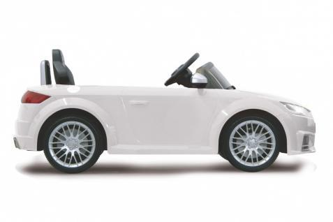 Jamara Kinderauto Elektroauto Elektro Ride on Car Audi TTS Roadstar Auto weiß - Vorschau 3