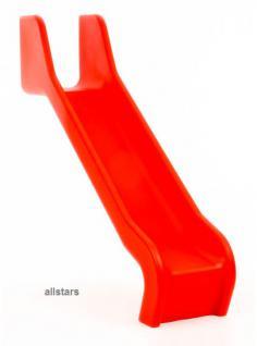 Beckmann PE-Rutsche 3, 31 m einteilig rot Podesthöhe 2 m Rutsche