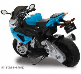 Jamara Kinder-Motorrad Ride On BMW S1000RR Motorbike mit E-Motor blau - Vorschau 2