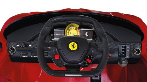 Jamara Ride On Ferrari LaFerrari Kinderauto Elektroauto rot 2, 4G 6V - Vorschau 4