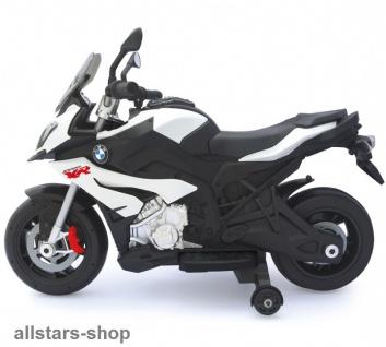 Jamara Kinder-Motorrad Ride On BMW S1000XR Motorbike mit E-Motor weiss - Vorschau 3