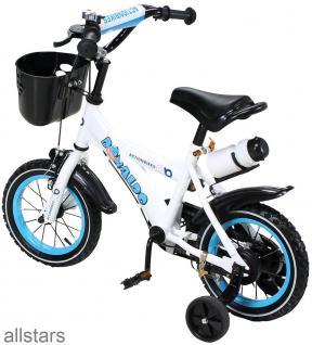 Kinderfahrrad 12 Zoll Hello Donaldo blau Fahrrad ActionBikes - Vorschau 2