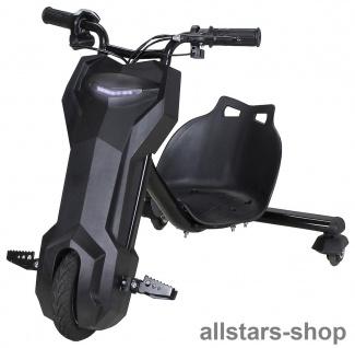 Actionbikes Elektro-Roller Drift-Scooter E-Scooter Gokart E-Dreirad schwarz
