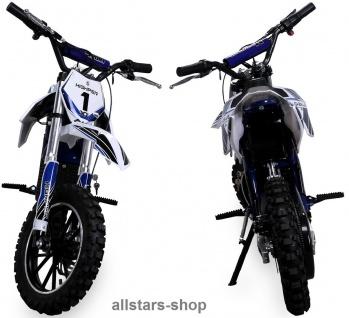 Actionbikes Kindermotorrad Kinder-Crossbike Poketbike Gazelle E-Motorrad blau - Vorschau 3