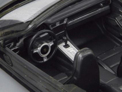 Porsche 911 Carrera S 1:12 schwarz mit 27MHz Fernbedienung von Jamara - Vorschau 4