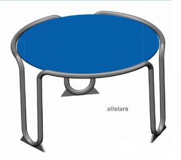 Hally-Gally Spogg Schlendrian Tisch Edelstahl Sitzgruppe
