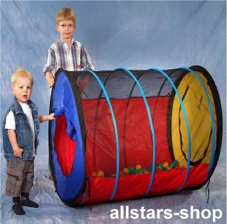 Dragon Toys Therapietunnel Kriechtunnel Spieltunnel mit Therapie-Bällen für Kindergarten und Hort