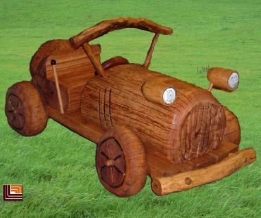Großes Kletterauto Spielplatzauto Klettergerät aus Eiche-Robinie Oldtimer Auto für KiGa und öffentlicher Spielplatz