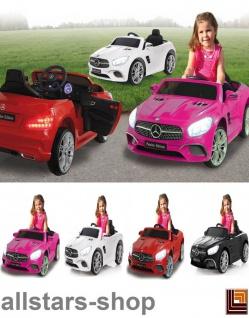 Jamara Kinderauto Elektroauto Mercedes SL 400 Ride On Car mit E-Motor Selbstfahrer-Auto - Vorschau 1