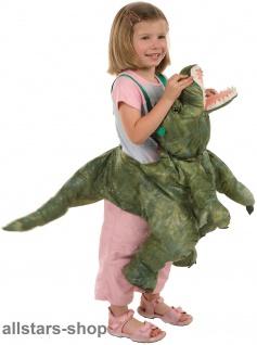 Allstars Kinder-Kostüm Tierkostüm Dinosaurier Faschingskostüm Schlupfkostüm Karneval