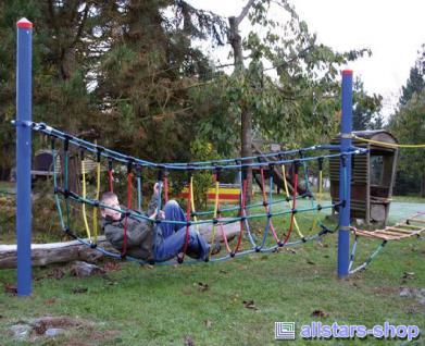 Huck Fun-Parcours 2010 Kletterspiel Brücke Seilkletteranlage Spiel-Parcours