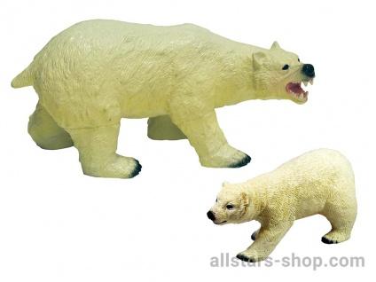 Allstars Spielfiguren 2 Eisbären Zootiere