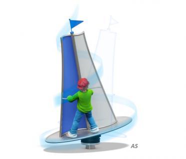 Hally-Gally Karussell Hip-Hop-Reihe Surfer Drehkreisel Wirbel Kreisel Drehkarussell Spielplatzgerät