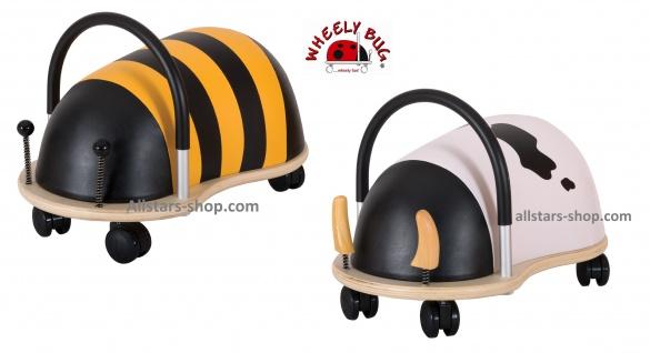Wheely Bug Rutscher Biene Maja und Kuh Kleinkindrutscher klein mit 360 Grad Wendekreis allstars