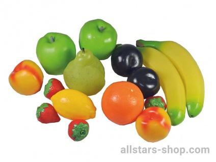 Allstars Früchte-Set, 15-teilig Spielobst Obst