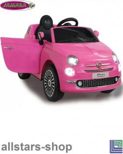 Jamara Kinderauto Elektroauto Ride On Car Fiat 500 Selbstfahr-Kinderauto - Vorschau 4