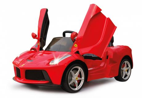 Jamara Ride On Ferrari LaFerrari Kinderauto Elektroauto rot 2, 4G 6V