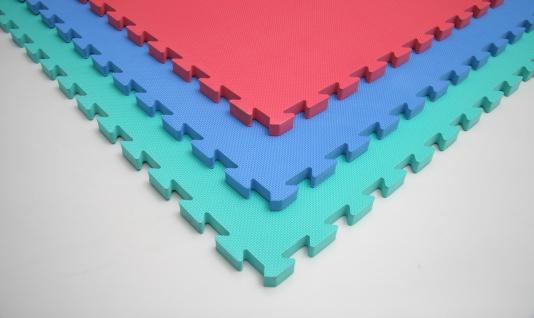 Bänfer Fallschutzmatte Vario Step blau 4 Stück Steckmatte Spielmatte - Vorschau 3