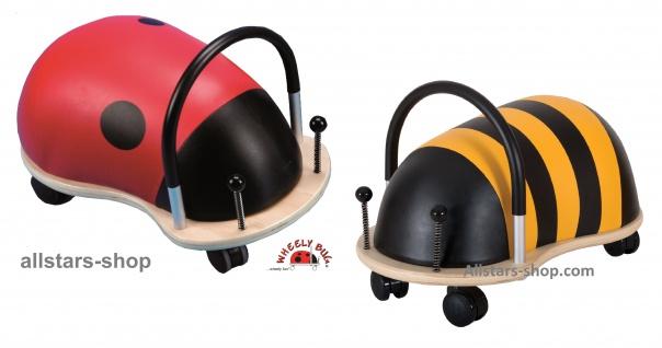 Wheely Bug Rutscher Biene Maja und Marienkäfer Skip Kleinkindrutscher klein mit 360 Grad Wendekreis allstars