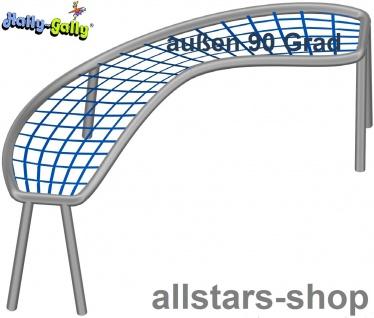 Hally-Gally Element für Achterbahn schräg 90° Bogen nach außen für Klettergestell mit 1 Netzteil