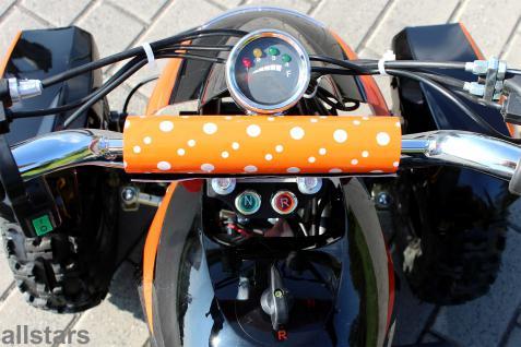 Allstars Pocketquad orange Cobra 800 Watt Miniquad - Vorschau 4