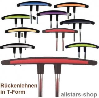 Allstars T-Lehne Star alle Modelle für Rollhocker Drehstuhl Kinderhocker
