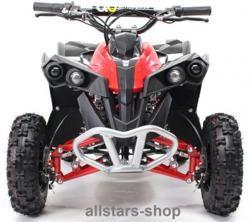 Actionbikes Kinderauto Elektro-Quad Reneblade 1000 W Pocketquad schwarz-rot Miweba