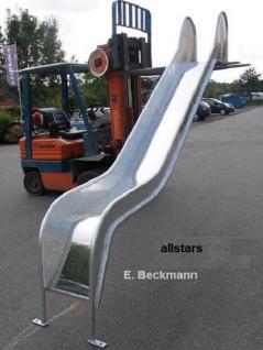 Beckmann Rutsche verzinkt Rutschfläche V2A 2.20 m PH= 1, 00 m