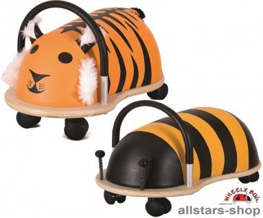 Wheely Bug Rutscher Biene Maja und Tiger Shir Khan Kleinkindrutscher groß 360 Grad rundum Allstars
