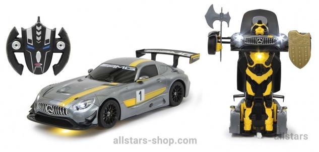 Mercedes-AMG GT3 transformable 1:14 mit Fernbedienung von Jamara