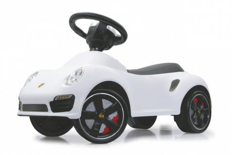Jamara Rutscher Porsche 911 weiß Rutschauto Kippschutz
