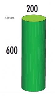 Bänfer Softbaustein Zylinder grün 600 x 200 Maxi Schaumstoff-Bausteine Großbaustein