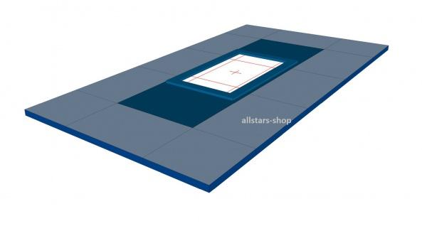 Bänfer Umrandungsmattensatz für Trampolin Großgerät 12-tlg. Nadelfilz für 1 Gerät