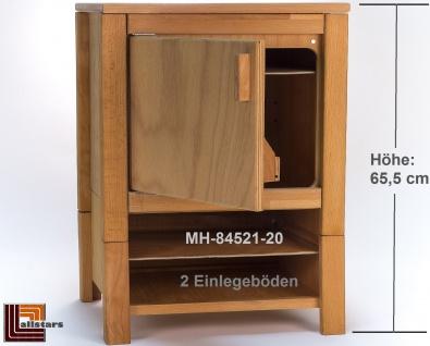 Allstars Kinderküche 1 Kühlschrank H = 65, 5 cm Spielküche aus Buchenholz