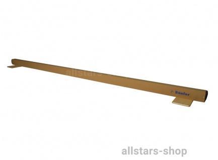 Bänfer Übungs-Schwebebalken mit Druckverteilerplatten - Länge: 5 m